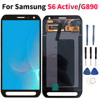 Lcd For Samsung Galaxy S6 Active LCD Touch Screen Digitizer Display G890 G890A SM G890 Assembly Replacement