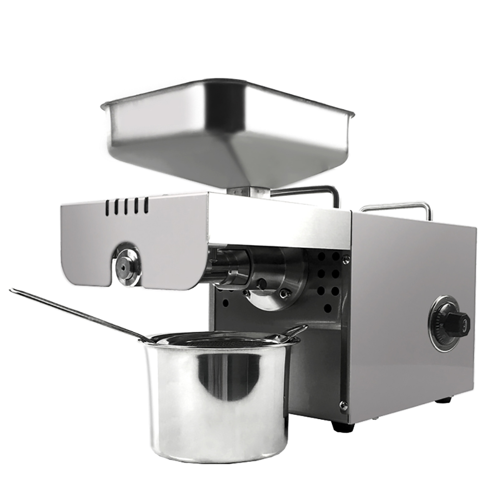 Oil Extractor High Extraction For Nut Oil And Rapeseed Oil Press Machine Stainless Steel Oil Press