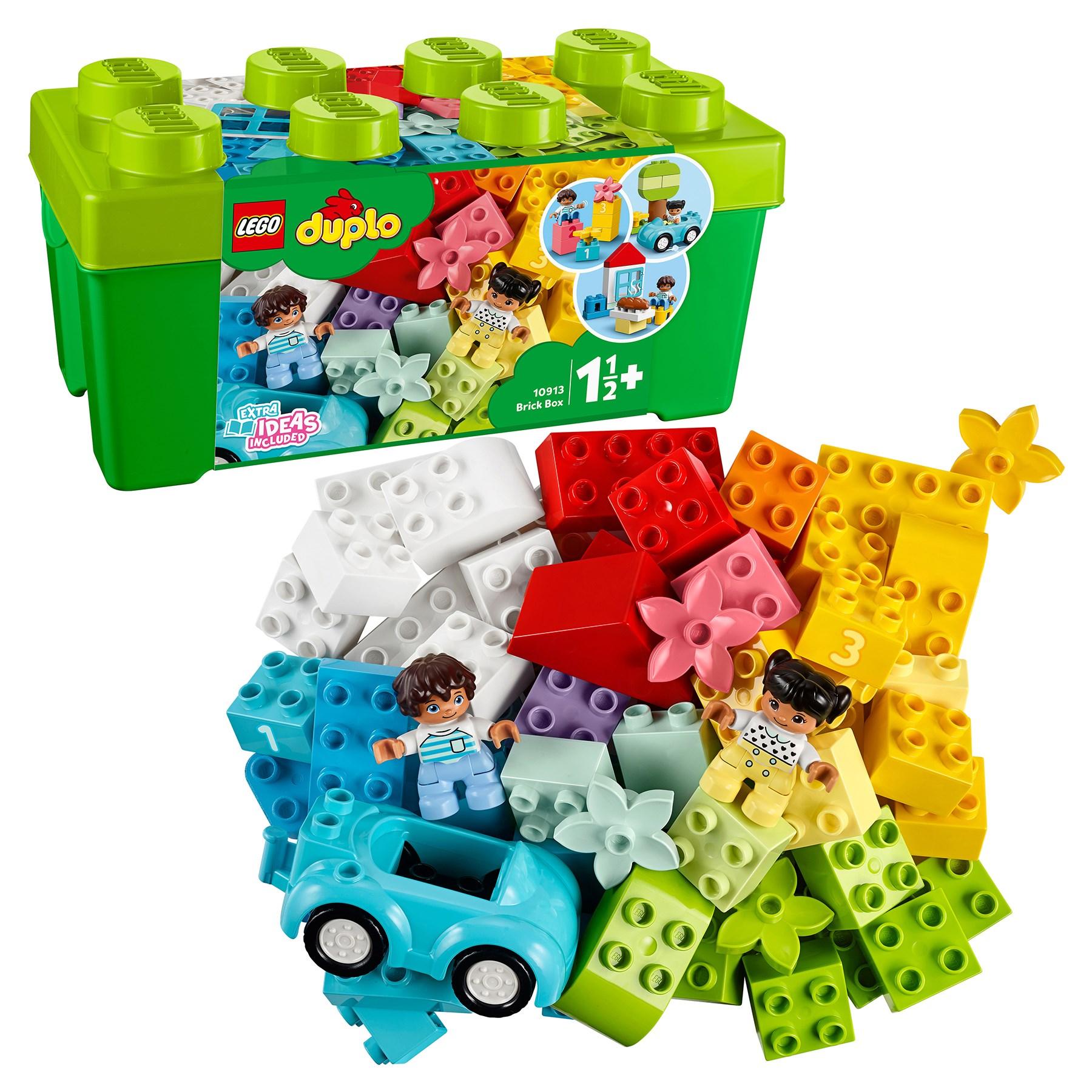 Designer Lego Duplo Classic 10913 Box With Cubes