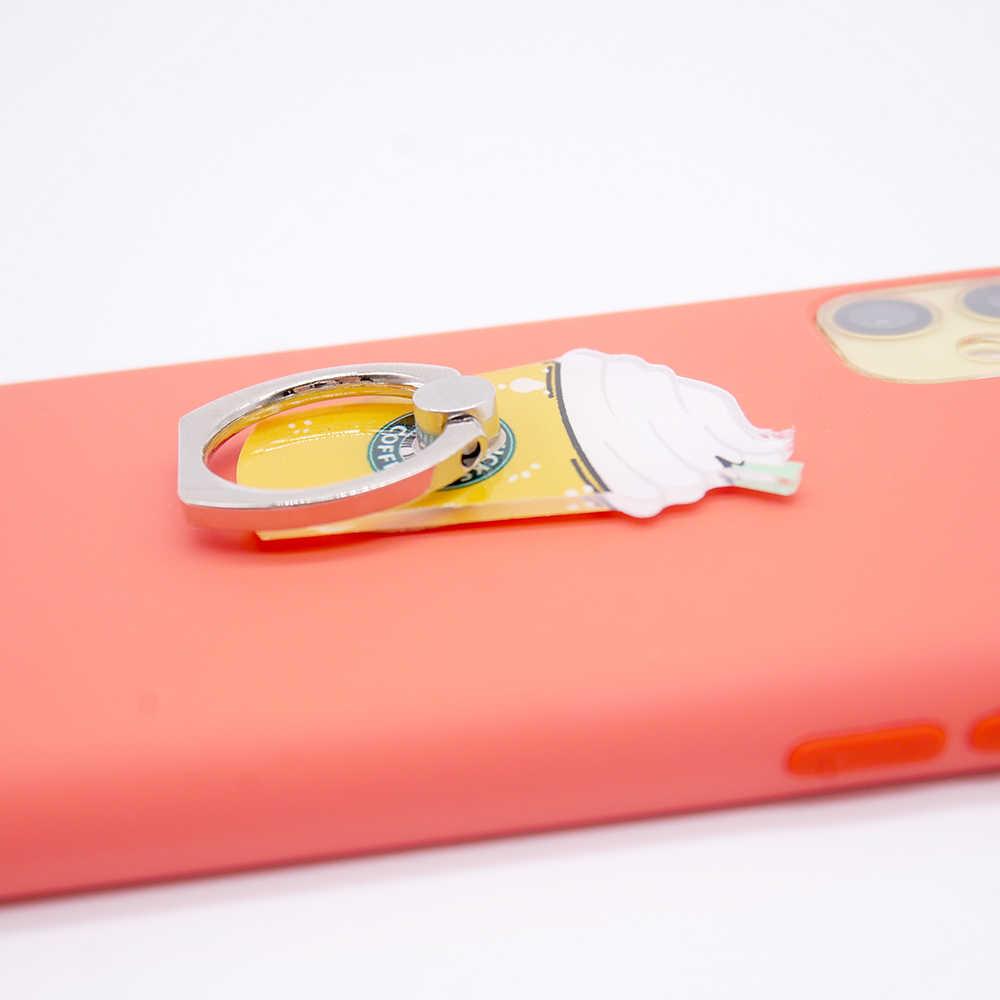 Beli Satu Gratis Satu Soket Universal Pemegang Ring Jari untuk Iphone Samsung Xiaomi Desktop Stand Telepon Metal Gunung Ponsel pemegang
