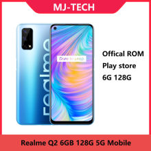 Realme q2, 6g 128g, play store, dimensity 800u octa core 6.5