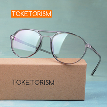 Toketorism prescription glasses womens eyeglasses decorative spectacle frames men 3442