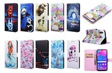 Ví thời trang Dạng Flip Case Dành Cho Samsung Galaxy Samsung Galaxy S10 S9 S8 J4 J6 Plus A7 2018 A20 A30 A40 A50 A70 m10 M20 M30 Da Túi Đựng Điện Thoại Da