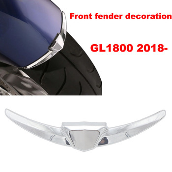 Motorcycle Front Fender Tip Case for Honda Goldwing GL1800 GL 1800 From 2018+ Chrome image