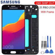5 2 #8221 LCD do SAMSUNG GALAXY j5 2017 J530 J530F SM-J530F wyświetlacz LCD z ekranem dotykowym Digitizer dla Samsung J5 Pro regulowany wyświetlacz tanie tanio Galaxy s For Samsung J5 PRO 2017 LCD i ekran dotykowy Digitizer Pojemnościowy ekran 1920x1080 3