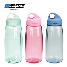 Nalgene sports water cup portable leakproof plastic Bottle outdoor large capacity kettle 900ml Hiking cycling travel russian large capacity insulated stainless steel bottle outdoor portable travel kettle car kettle
