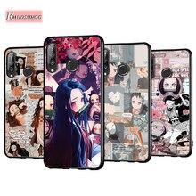 Demon Slayer Kimetsu No Yaiba Anti-Fall Phone Case for Huawei P30 P20 P40 Lite E