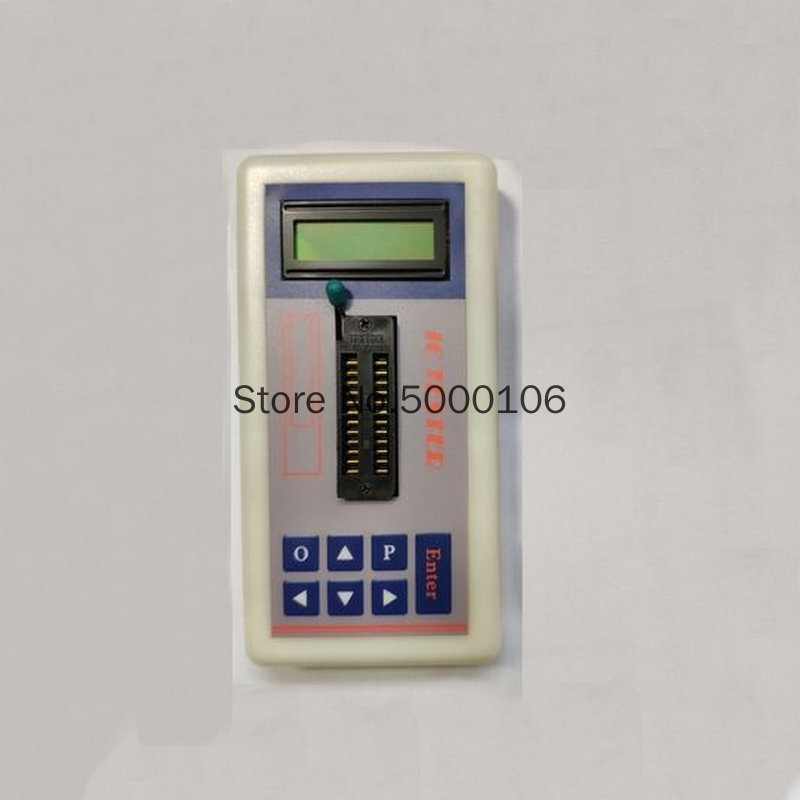 Integrated Circuit Tester IC Tester Transistor Online Maintenance Digital LED Transistor IC Tester