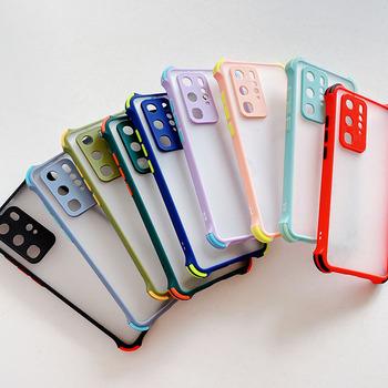 Anty upadek etui na telefony do Samsung Galaxy M12 etui do Samsung M12 M21 M31 M02 M62 F62 S odporny na wstrząsy przezroczysty silikon okładka tanie i dobre opinie Coatuncle CN (pochodzenie) Częściowo przysłonięte etui Transparent Anti-drop Phone Case Zwykły przezroczyste Shockproof Anti Fall Transparent Cover