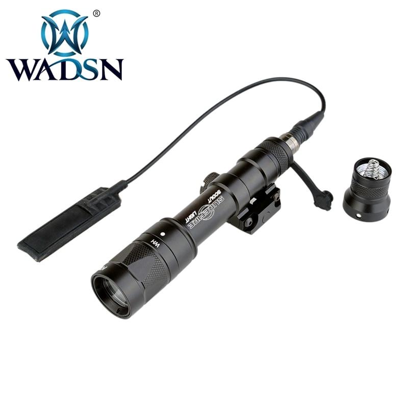 wadsn airsoft lanterna tatica luz branca cree xpg q5 led arma m600w luz strobe versao 170