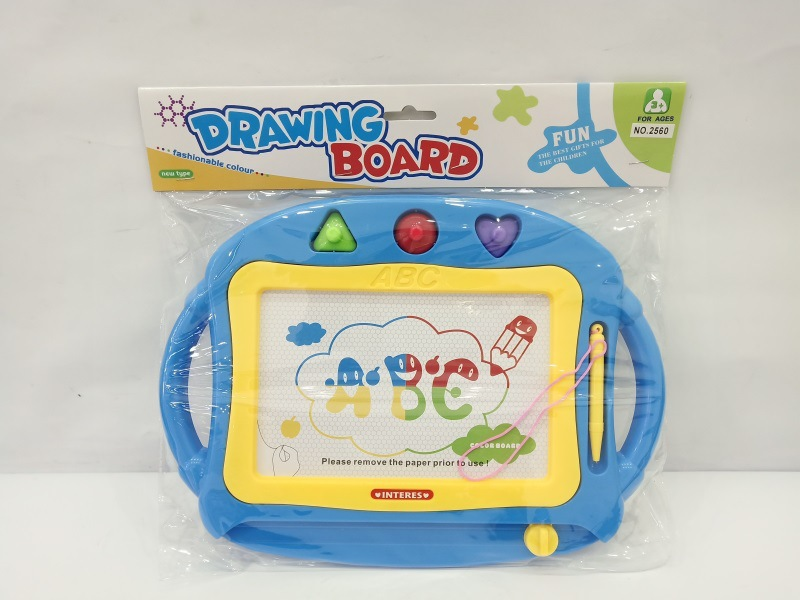 Children Color Magnetic Drawing Board WordPad Baby Educational DIY Graffiti Plastic Drawing Board Toy Gift