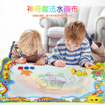 Toys Blanket Painting Set Puzzle Graffiti Canvas 120 90 1 And Child Baby Drawing Board > 3 Years