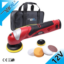 HEPHAESTUS 12V DC Car Polisher Drill Cordless Polishing Machine in Automotive With Pad/Bag And Polishing Sponges Soft Polishers