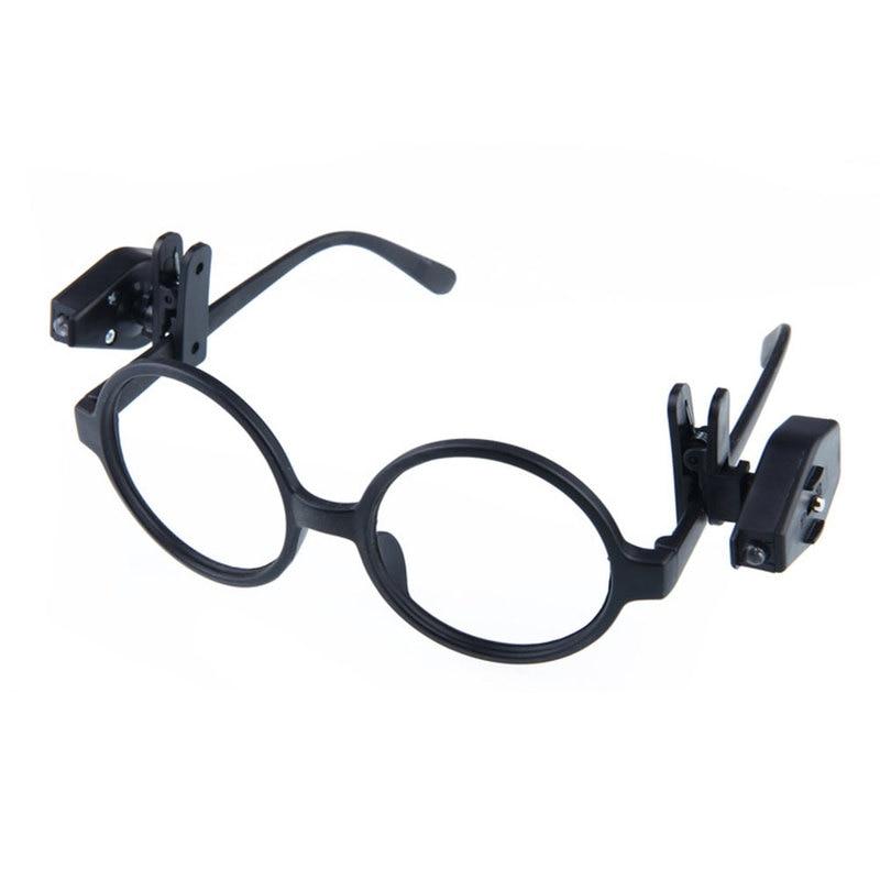 2pcs Flexible Book Reading Lights Night Light For Eyeglass and Tools Mini Lantern LED Eyeglass Lamp Clip On Universal Portable
