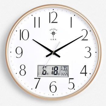 Reloj Nordic Silent Wall Clock Classic Simple Date European Style Wall Clock Living Room Children Zegar Scienny Home Decoration