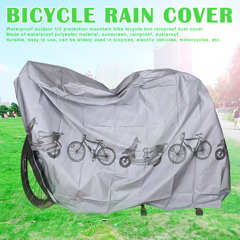 Waterproof Motorcycle Cover Shelter Rain UV All Weather Protection For Bike Motorbike FH99