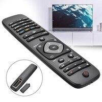 1pc universal substituição tv controle remoto para philips 242254990467/2422 549 90467 preto
