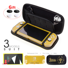 M/L/3in1 Portable Storage Bag for Nintendo Switch Hard EVA Travel Case for Nintend Switch Lite mini Game cover