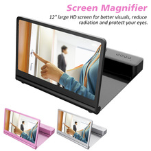 Watch Mobile-Phone Magnifier Home-Screen 12inch HD with Bluetooth-Speaker Live-Broadcast