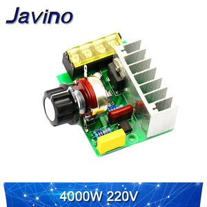 2000 Вт тиристорный регулятор 4000 Вт двигатель переменного тока 220 В Высокая мощность электронный регулятор напряжения и регулятор температуры модуль