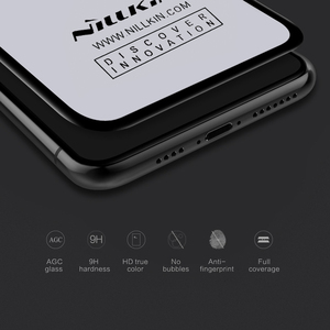Image 2 - NILLKIN anti glare Screen Protector For iPhone 11 Pro Max H/H+Pro/CP/XD/3D Protective Tempered Glass for iPhone X XR XS Max film
