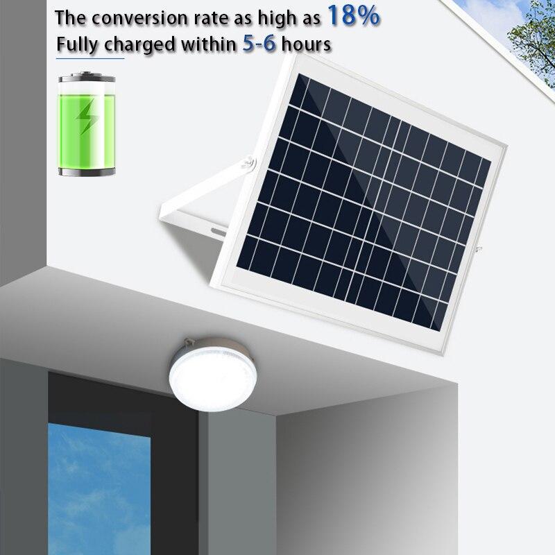 Солнечный современный светодиодный для помещений потолочный светильник на солнечной батарее с пультом дистанционного управления светоди...