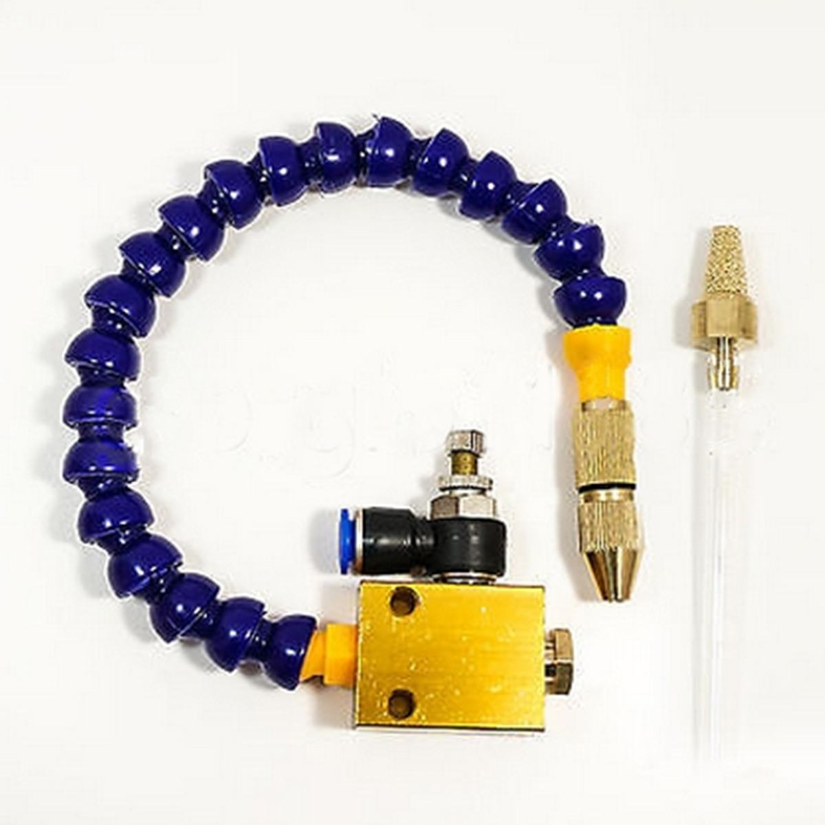 Mist Coolant Lubrication Spray System For 8mm Air Pipe Lathe Mill Drill CNC