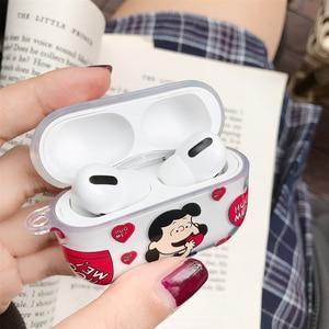 Image 5 - Bluetooth kulaklık için apple airpods kılıf fıstık Charlie köpek kablosuz kulaklık sevimli köpek silikon kapak airpods1 2 3