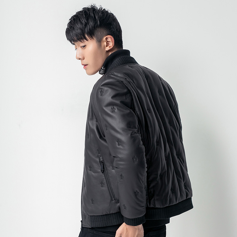 Leather Jacket Winter Jacket Men Duck Down Jacket Men Genuine Sheepskin Coat Streetwear Chaqueta Hombre Z181813 MY1238