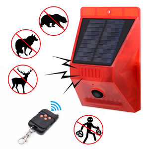 Image 3 - Сигнализация на солнечной батарее с дистанционным управлением, охранная сигнализация с датчиком движения, сирена с пассивным ИК датчиком движения для дома, двора, улицы
