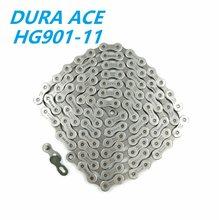 Цепь DURA ACE HG901, 11 скоростей, горный велосипед, горный велосипед, 11 скоростей, 116L, CN-HG901