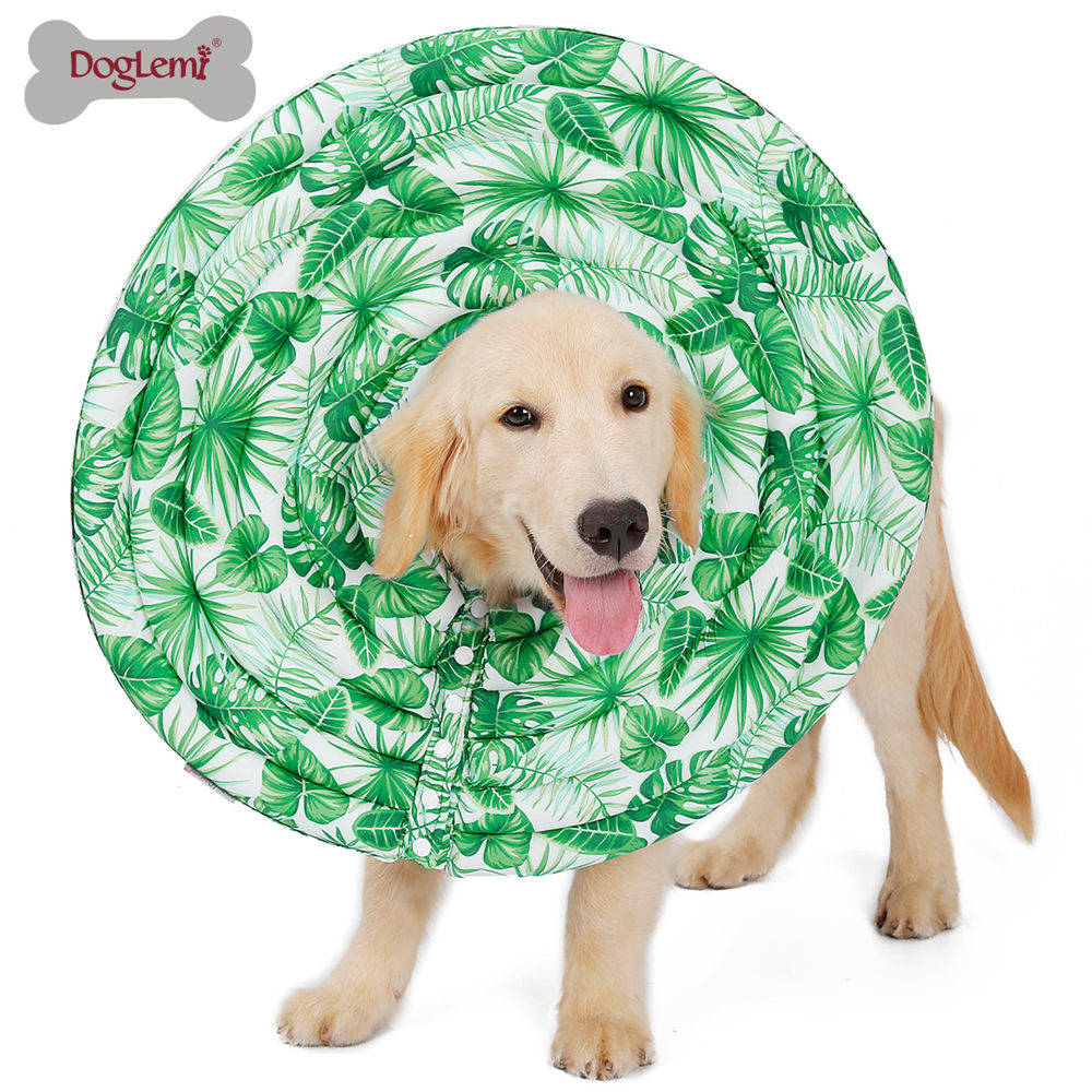 Nylon Protective Medical Cone E- Collar For Small Large Dogs And Cats 4