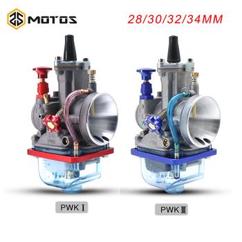 Motocykl ZS MOTOS dla Keihin Pwk gaźnik Carburador 28 30 32 34 mm szybki tankowanie 4T PWK gaźnik pasuje do 4T 50cc do 300cc tanie i dobre opinie ZSDTRP CN (pochodzenie) alloy Aluminum 0 6kg PWK carburetor Iso9001 L-550 15cm SCL-2020050025