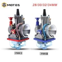 ZS MOTOS دراجة نارية ل Keihin Pwk المكربن Carburador 28 30 32 34 مللي متر عالية السرعة للتزود بالوقود 4T PWK Carb صالح 4T 50cc إلى 300cc