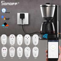 SONOFF S26 Mini Smart Stecker EU-E/EU-F/UK/AU/US/BR/ES/IL/CH/CN Wifi Fernbedienung Steckdose Schalter Timer Google Home Alexa