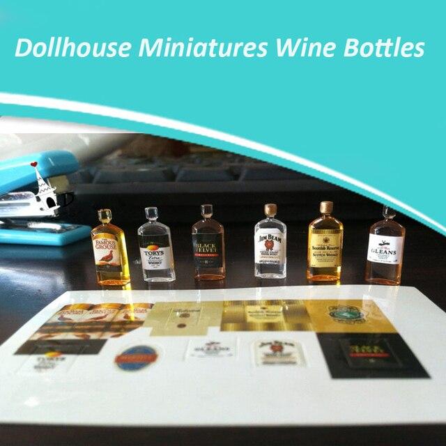 1:12 Dollhouse Simulation Miniatures 2pcs Ketchup Bottle Style Kitchen Sque V2O9