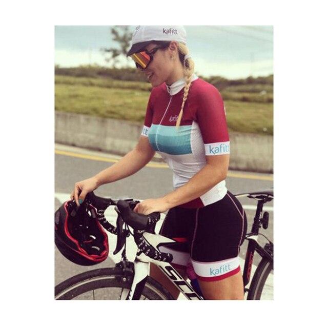 2020 das mulheres triathlon manga curta camisa de ciclismo define skinsuit maillot ropa ciclismo bicicleta jérsei roupas ir macacão macacão ciclismo feminino kafitt conjunto feminino ciclismo macacao ciclismo feminino 5