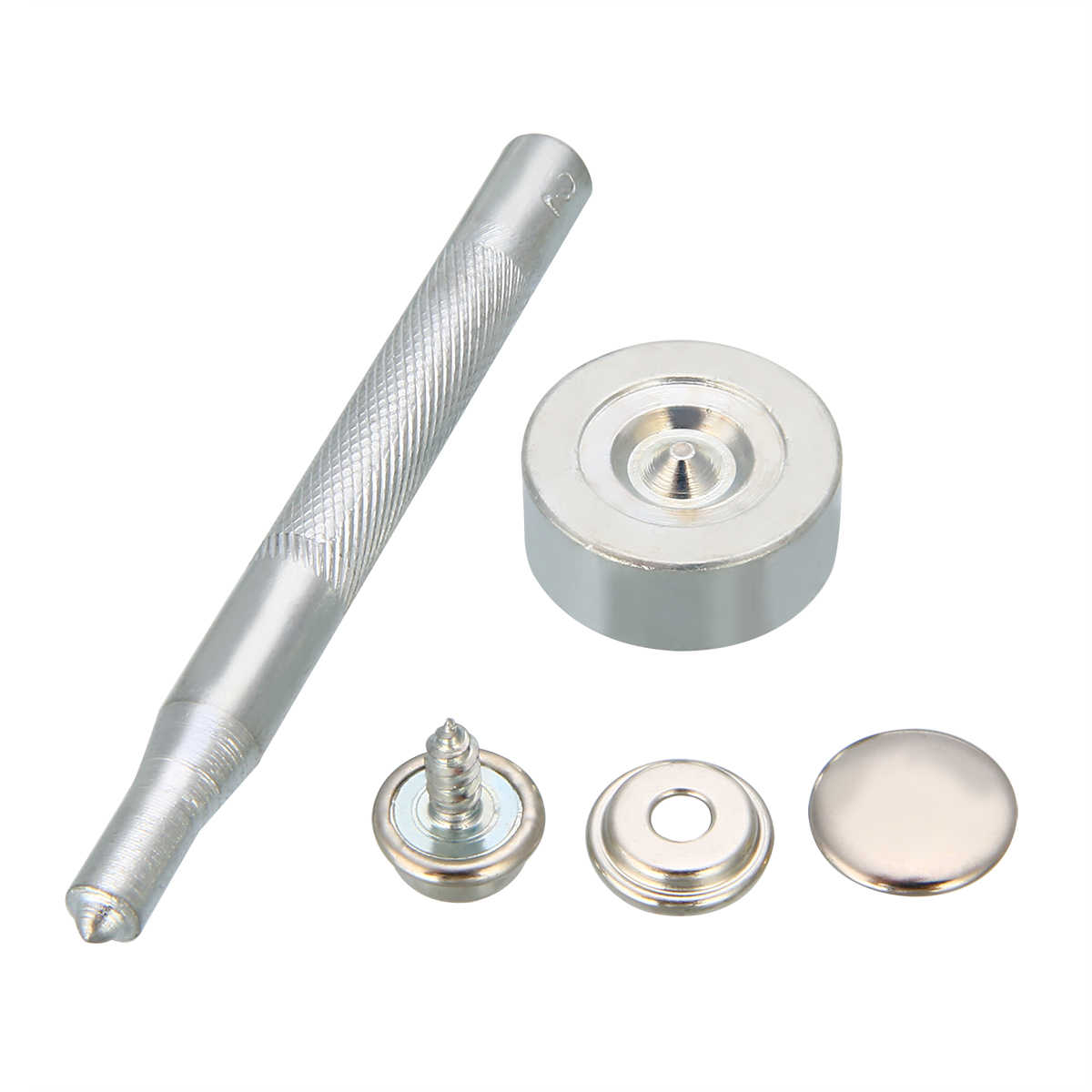 Mayitr 50 Set Stainless Steel Push Button Snap Fastener Screw Kit W Tool For Tonneau Cover Boat Cover Diy Material Accessories Buttons Aliexpress