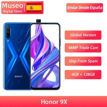 Global version Honor 9X 4GB 128GB Smartphone 48MP AI Triple Camera 6.59 ''mobile Phone Googling Play CellPhone