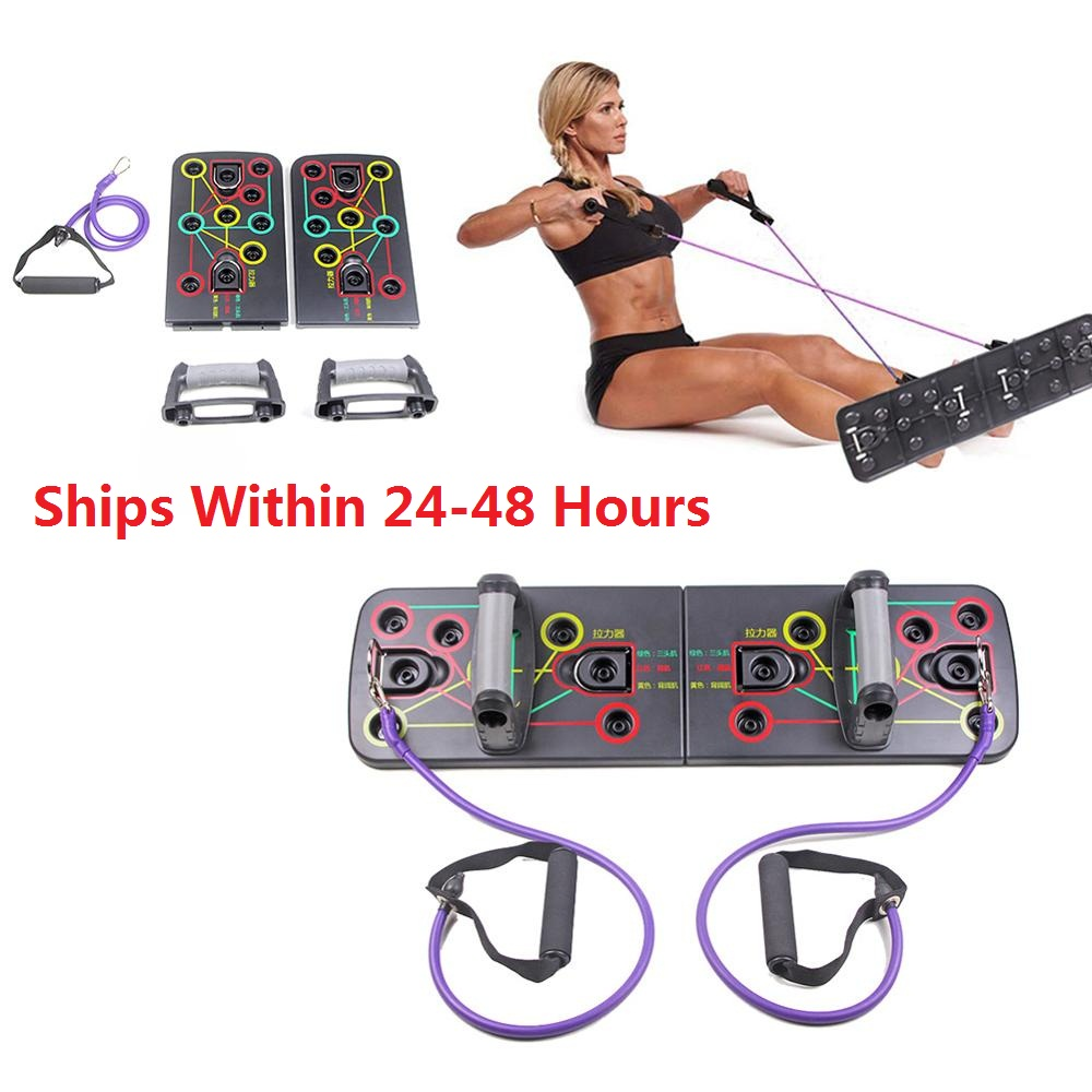 Push Up Rack Board Comprehensive Fitness Exercise Workout Push-up Stands Dropshipping