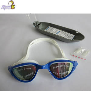 Electroplating Goggles Plain Glass Waterproof Anti-fog Adult Goggles Resolution High for Both Men And Women Mc7000 Swimming Glas