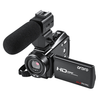 Digital Camcorder Full HD Video Camera wifi ORDRO V7 Plus 16X Zoom Night Vision Videocamara Filmadora support Microphone