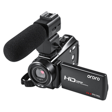 Digital Camcorder Full HD Video Camera wifi ORDRO V7 Plus 16X Zoom Night Vision