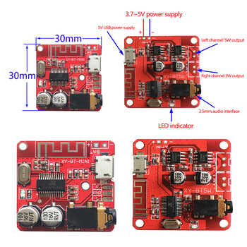 MP3 Bluetooth Decoder Board Lossless Car Speaker Audio Amplifier Board Modified Bluetooth 4.1/4.2 Circuit Stereo Receiver Module image