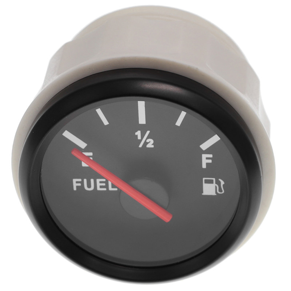 Car Fuel Level /& Boat Marine Fuel Tank Level Gauge 12//24V 52mm 240-33 ohms