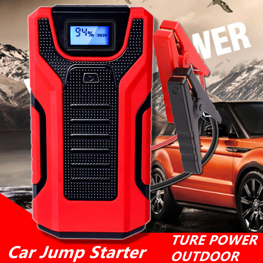 GKFLY Emergency 1200A Starting Device 16000mAh 12V Car Jump Starter Power Bank Petrol Diesel Car Charger For Car Battery Booster
