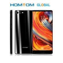 HOMTOM S9 Plus 5.99 Polegada 18:9 moldura menos 16MP Exibição Smartphones Câmera Dupla 4050mAh Frente Impressão Digital 4GB + 64GB Octa Telefone Núcleo