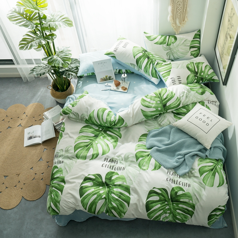 Pillowcase Bedding-Sets Duvet-Cover Flat-Bed-Sheet Single-Size 3pcs Special Promotion-Clearance