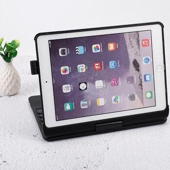 Wireless Bluetooth 5.0 Keyboard Cover Backlit Keyboard Can Be Rotated 360 Horizontally for iPad Air2 iPad Pro 9.7 / iPad 9.7 (20