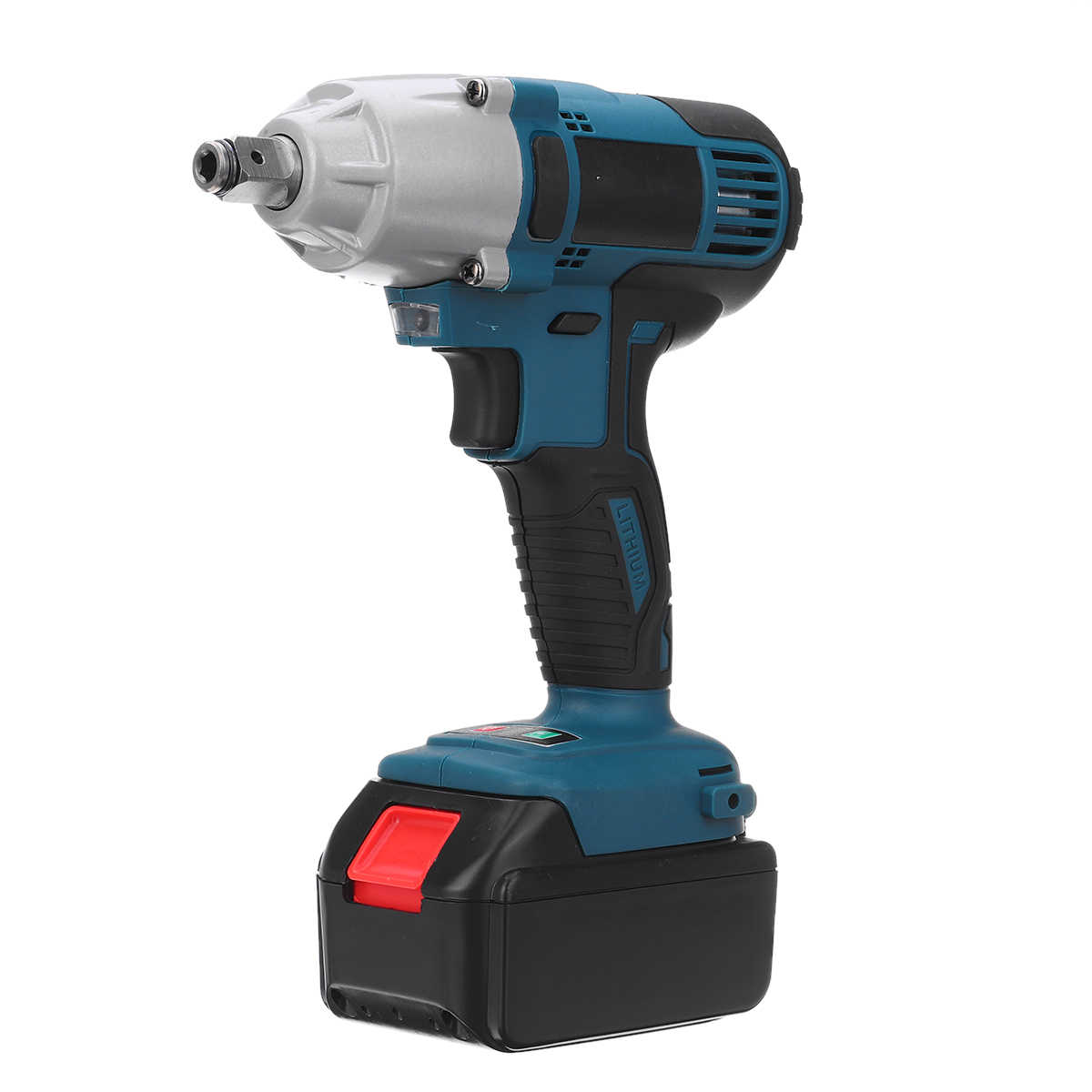 330N.m 4200RPM <font><b>Cordless</b></font> Wrench <font><b>Electric</b></font> <font><b>Impact</b></font> Wrench <font><b>Drill</b></font> <font><b>Screwdriver</b></font> with LED lights 128VF 16800mah Battery Power Tool image